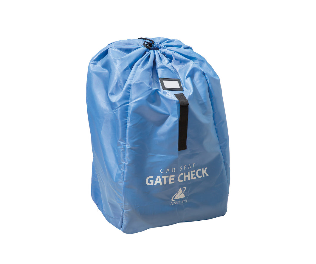 Blue - Car Seat Travel Bag Gate Check | AMT PRO