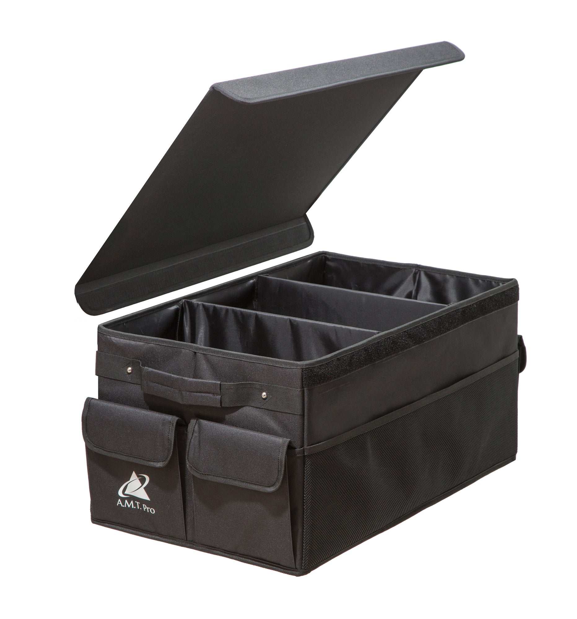 --Premium Foldable Car Trunk Organizer with Cover--