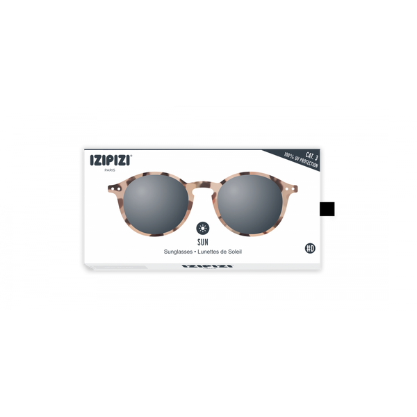 SUN LETMESEE #D Light Tortoise Soft Grey Lenses