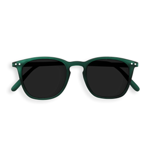 SUN LETMESEE #E Green Crystal Soft Grey Lenses