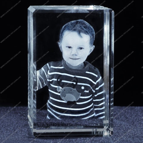 3D Laser Gift, Photo Crystal, Laser Engraved Gifts - Kids