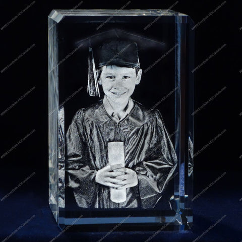 High Definition 3D Laser Gift Engraving - Graduation