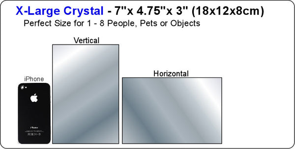 EverBrite-HD Photo Crystal - X-Large Size