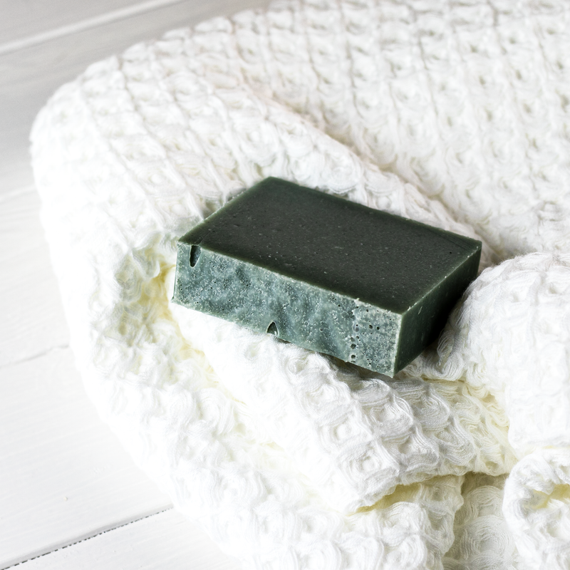 Heather + Moss Soap
