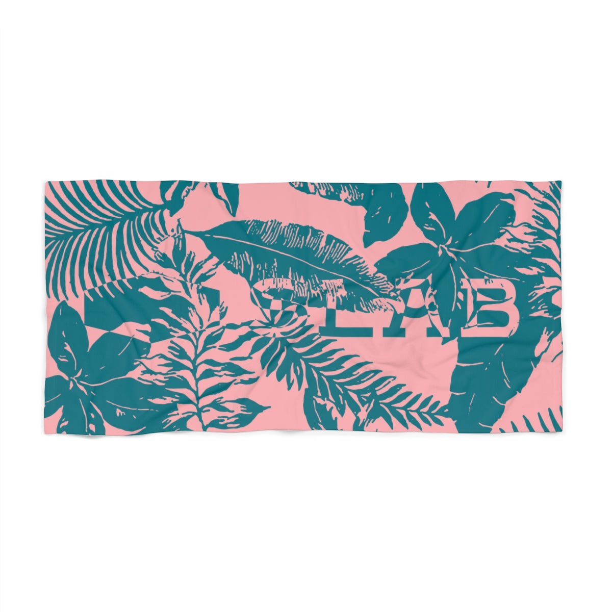 SLAB Palm Gulf Beach Towel