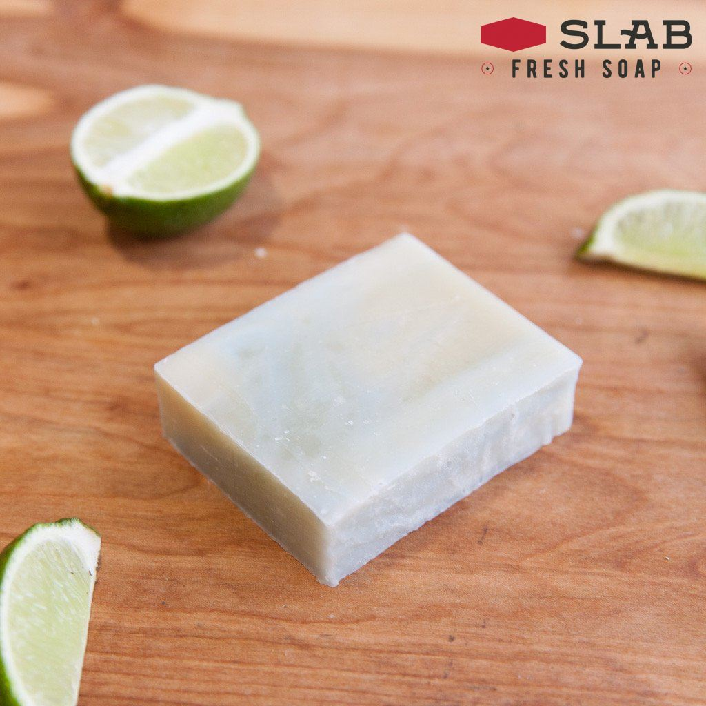 Bay Rum Lime Soap | Castile Soap | SLAB FRESH SOAP™