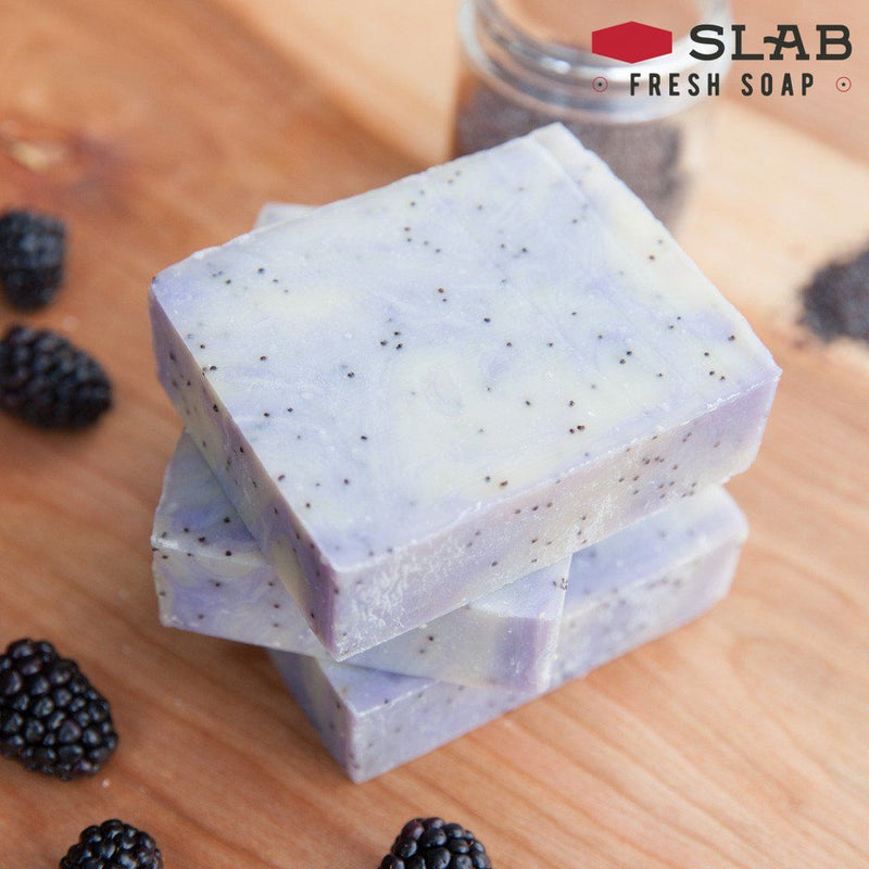 Blackberry Chai Soap | Castile Soap | SLAB FRESH SOAP™