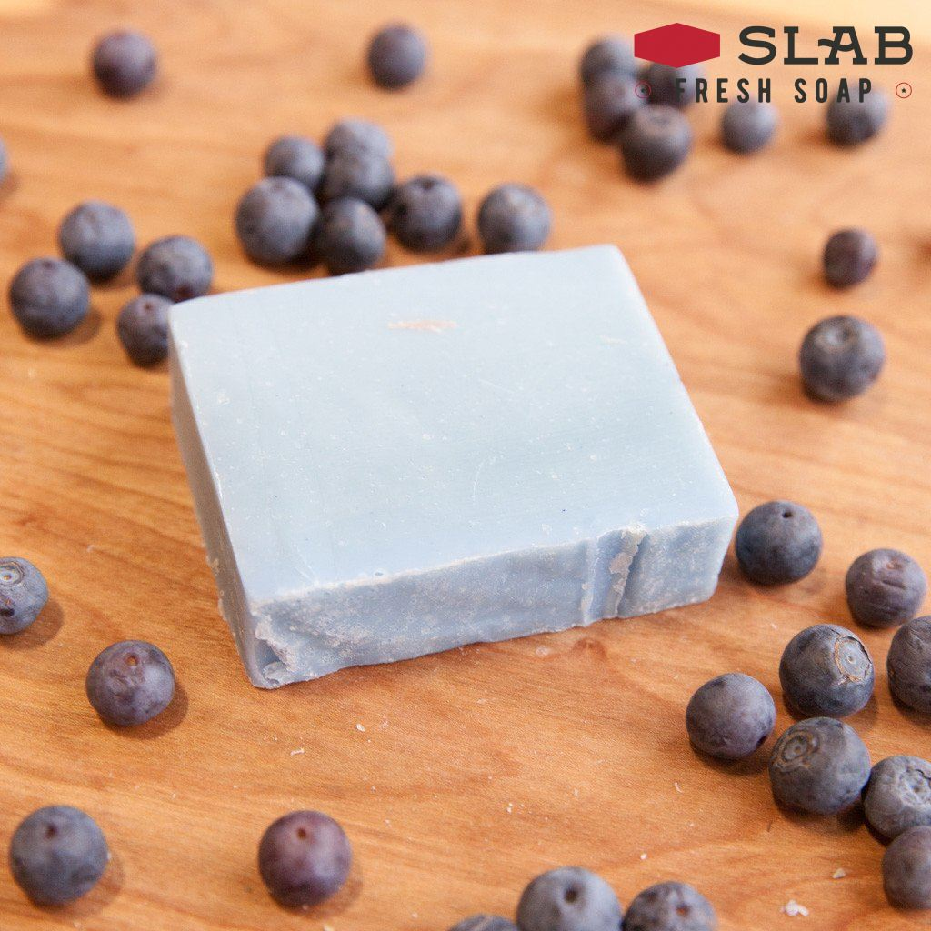 Blueberry Soap | Castile Soap | SLAB FRESH SOAP™