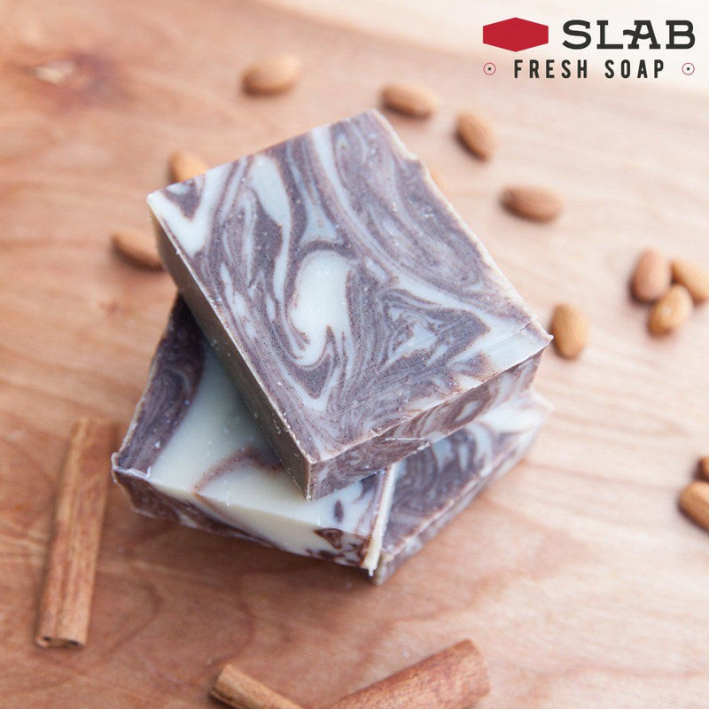 Cinnamon Almond Soap | Castile Soap | SLAB FRESH SOAP™