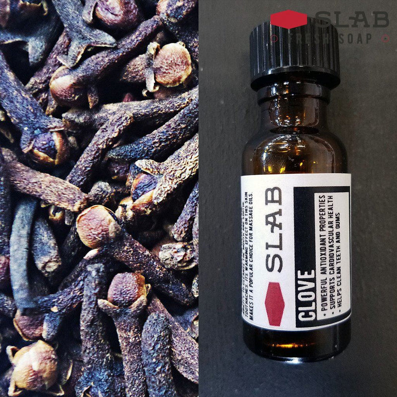 Clove Oil | Essential Oil | SLAB FRESH SOAP™