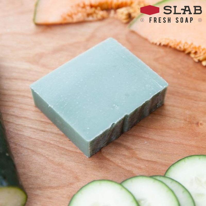 Cucumber Melon Soap Sample - -