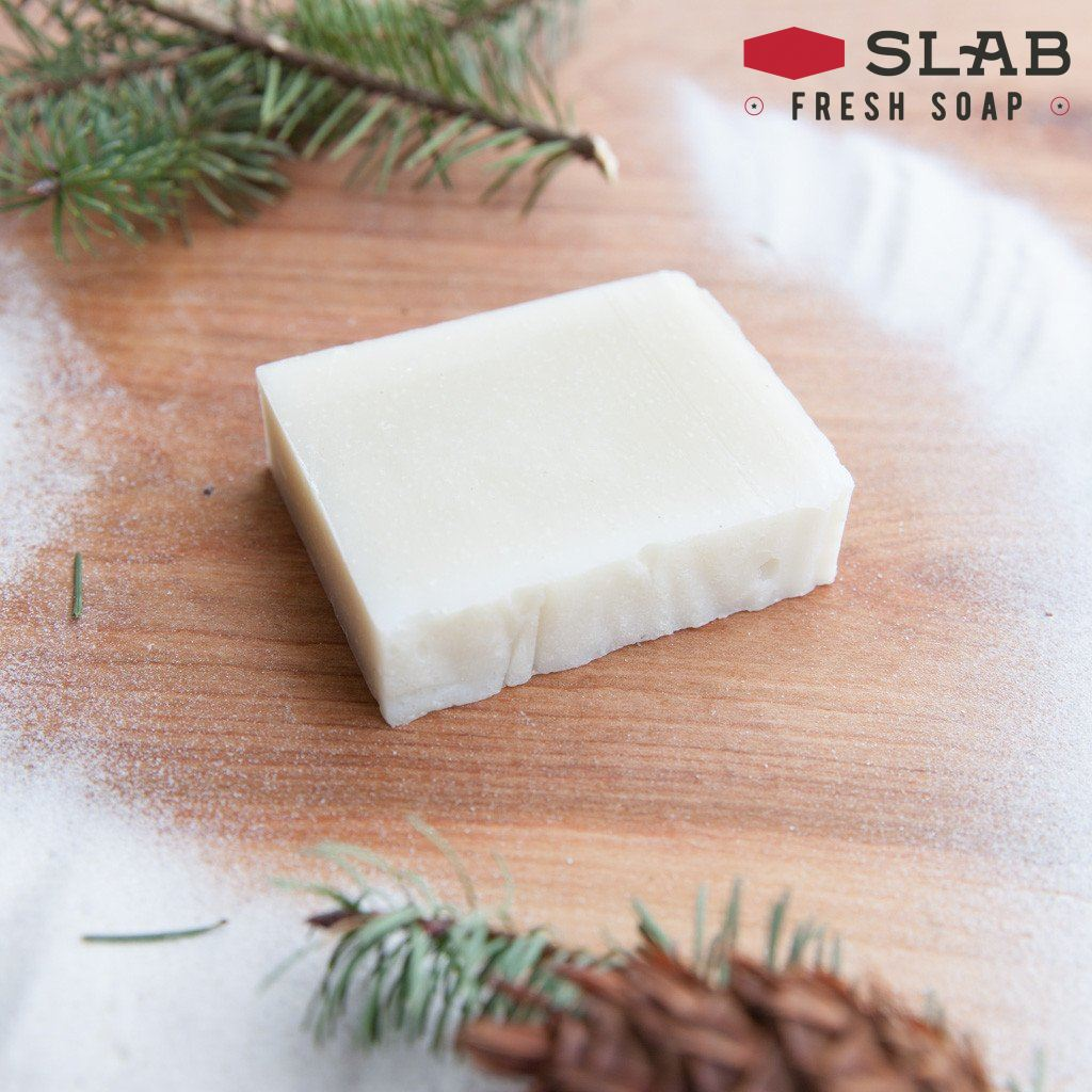 Douglas Fir Sand Soap | Castile Soap | SLAB FRESH SOAP™