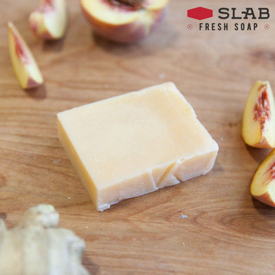 Ginger Peach Soap | Castile Soap | SLAB FRESH SOAP™