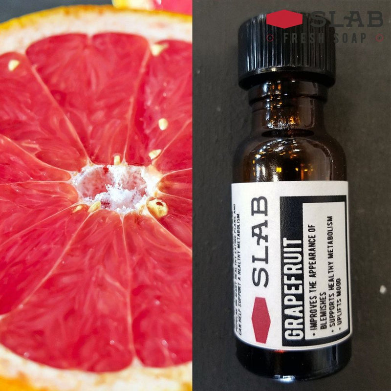 Grapefruit Oil | Essential Oil | SLAB FRESH SOAP™