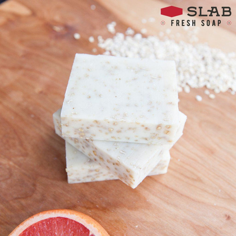 Grapefruit Oatmeal Soap - -