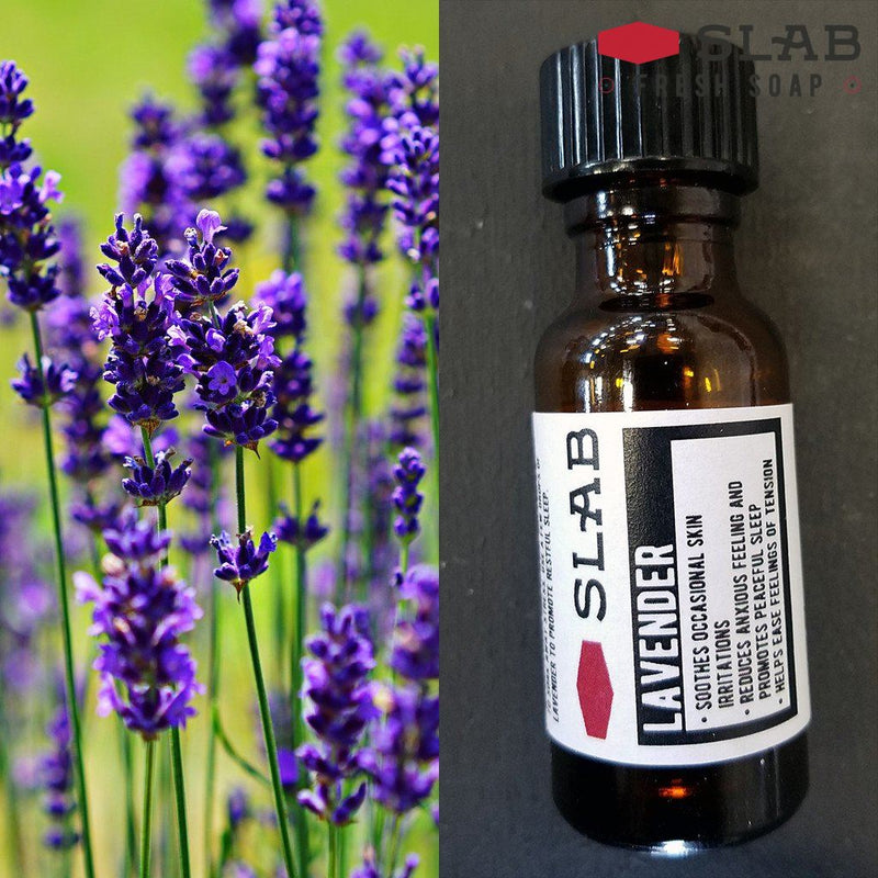 Lavender Oil | Essential Oil | SLAB FRESH SOAP™