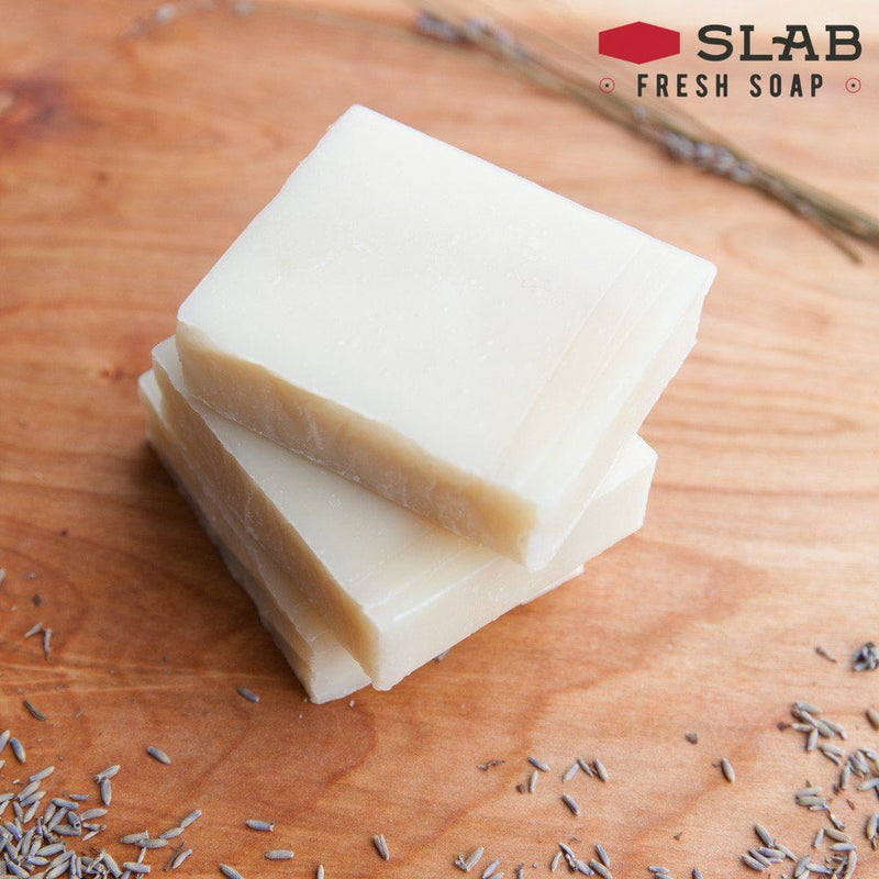 Lavender Patchouli Soap | Castile Soap | SLAB FRESH SOAP™