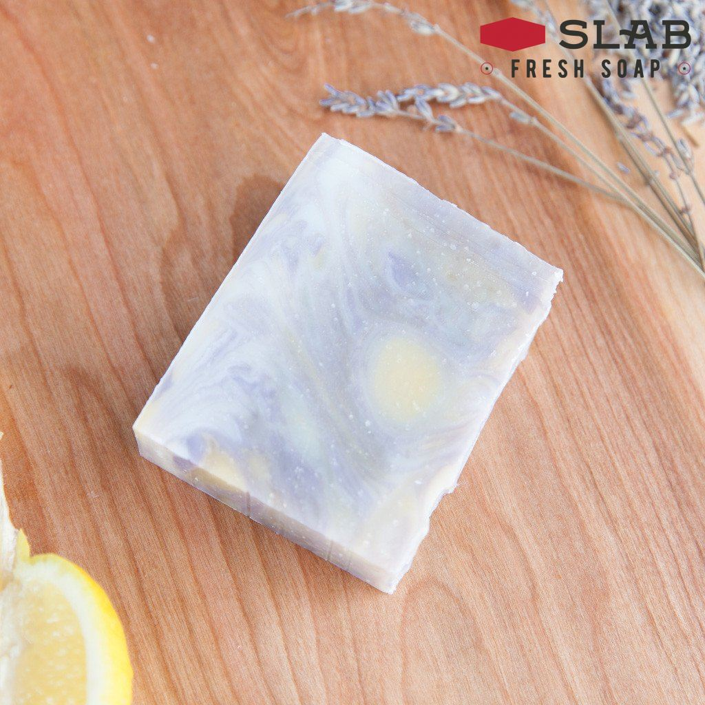 Lemon Lavender Soap | Castile Soap | SLAB FRESH SOAP™