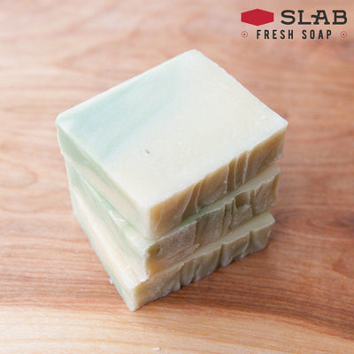 Lemon Verbena Soap Stack | Castile Soap | SLAB FRESH SOAP™