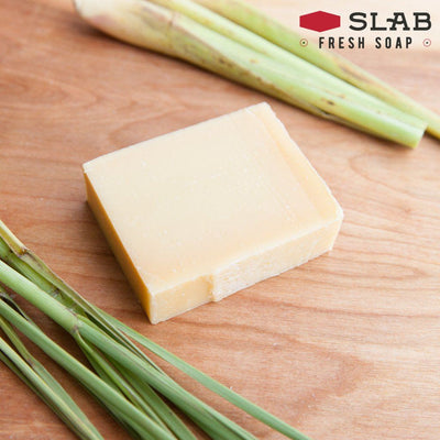 Lemongrass Soap | Castile Soap | SLAB FRESH SOAP™
