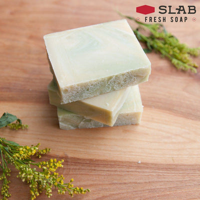 Linden Blossom Soap Stack | Castile Soap | SLAB FRESH SOAP™