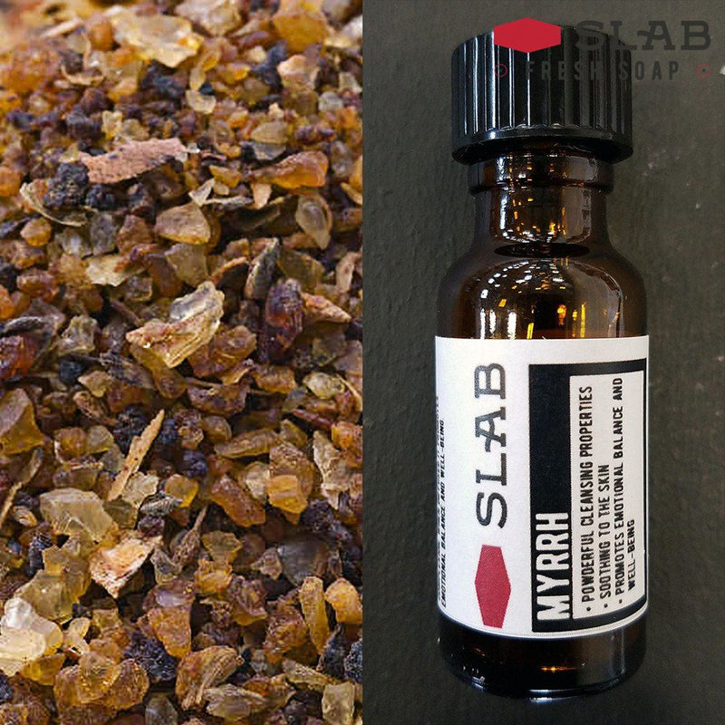 Myrrh Oil | Essential Oil | SLAB FRESH SOAP™
