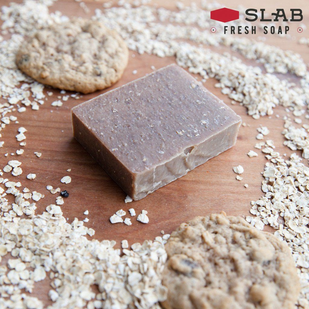 Oatmeal Cookie Soap | Castile Soap | SLAB FRESH SOAP™