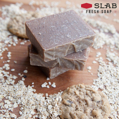 Oatmeal Cookie Soap Stack | Castile Soap | SLAB FRESH SOAP™