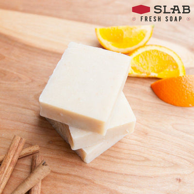 Orange Spice Soap Stack | Castile Soap | SLAB FRESH SOAP™