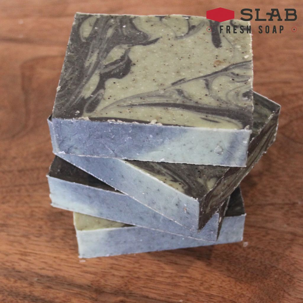 Oregon Grit Soap | Castile Soap | SLAB FRESH SOAP