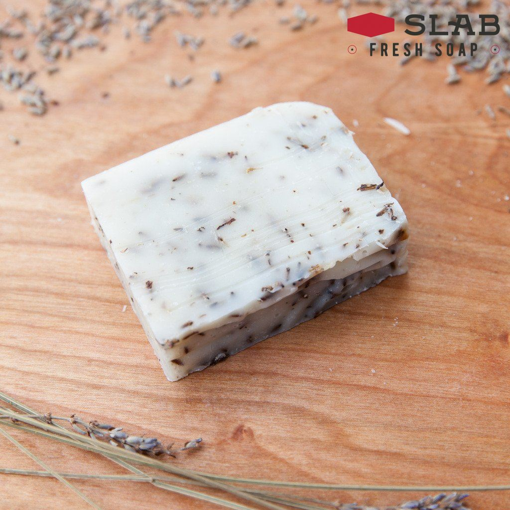 Lavender Soap | Castile Soap | SLAB FRESH SOAP™