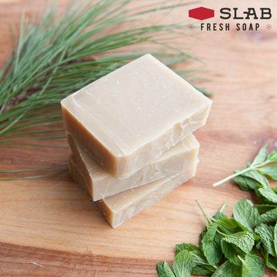 Pine Tar Shampoo Soap Stack | Castile Soap | SLAB FRESH SOAP™