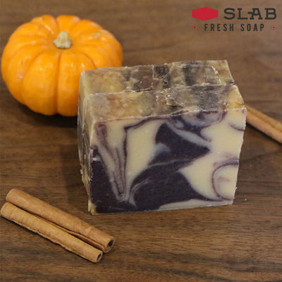 Pumpkin Spice Soap | Castile Soap | SLAB Fresh Soap