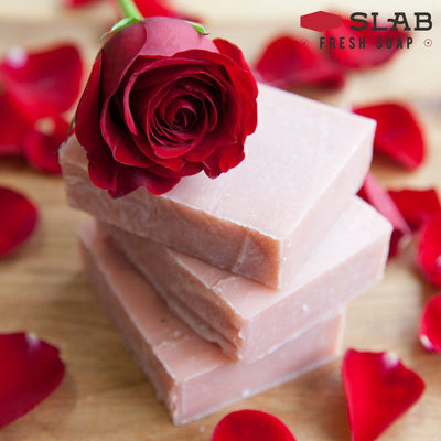 Red Rose Soap - -
