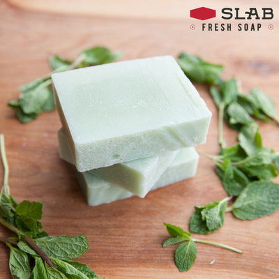 Spearmint Soap Stack | Castile Soap | SLAB FRESH SOAP™