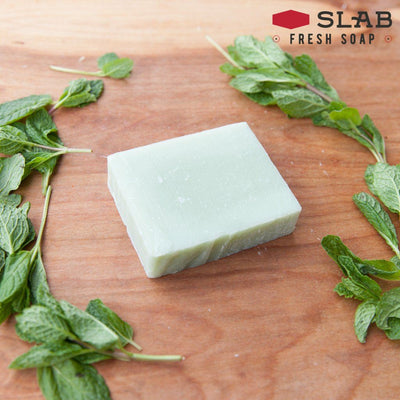 Spearmint Soap | Castile Soap | SLAB FRESH SOAP™