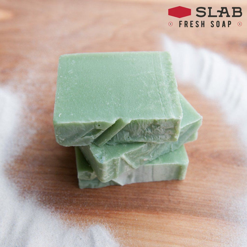 Tea Tree & Sand Soap | Castile Soap | SLAB FRESH SOAP™
