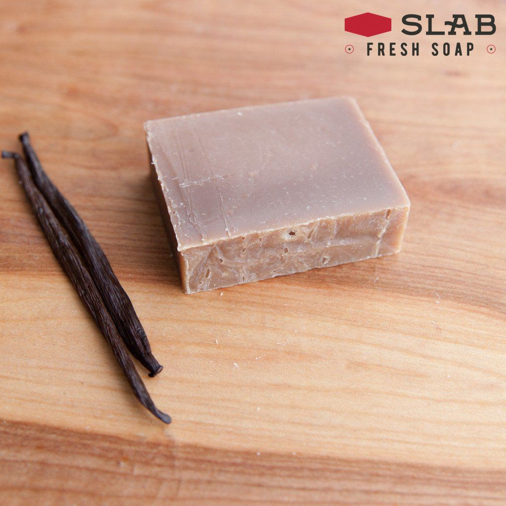 Vanilla Soap | Castile Soap | SLAB FRESH SOAP™