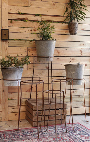 Iron Plant Pot Stands from VH Interiors MCR