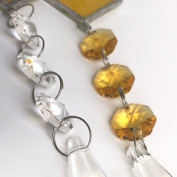 Choice of clear and yellow crystals