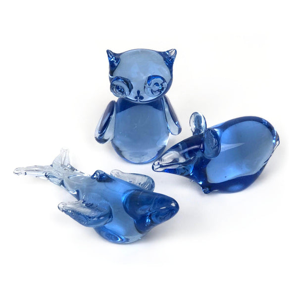 Vintage Glass Animals Currently Available