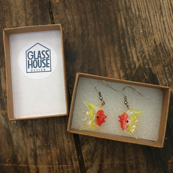 Tropical Fish Earrings Boxed