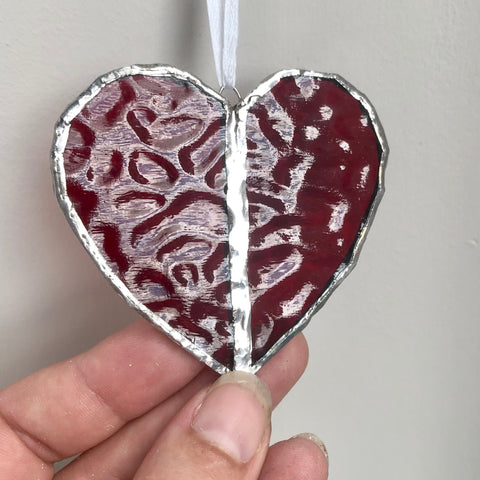 Red Heart Window Charm Gift