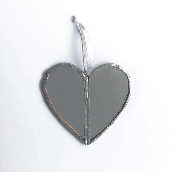 Mirror Heart Window Charm Gift