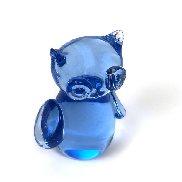 Blue Glass Owl