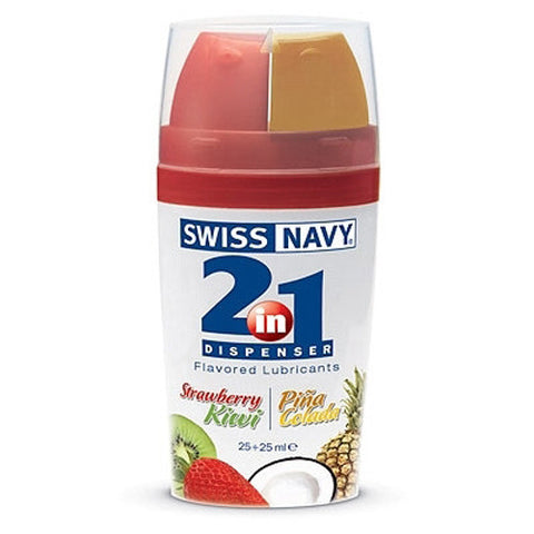 Swiss Navy 2-in-1 Flavored Lubes