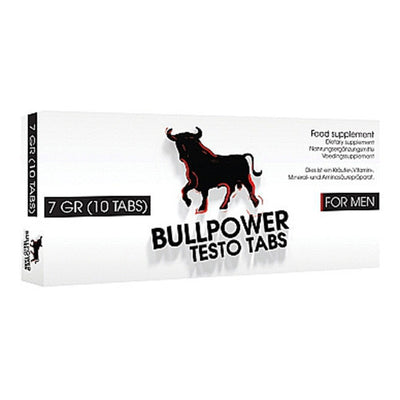 Bull Power Testo Tabletit - Powerman.fi