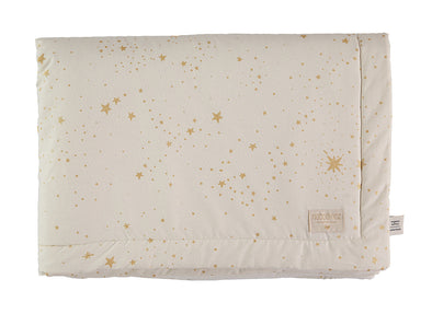 LAPONIA BLANKET - GOLD STELLA/ NATURAL