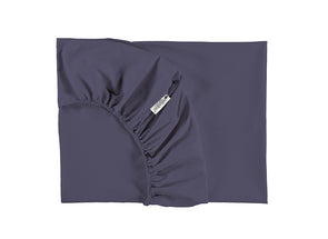 ALHAMBRA SINGLE FITTED SHEET - AEGAN BLUE
