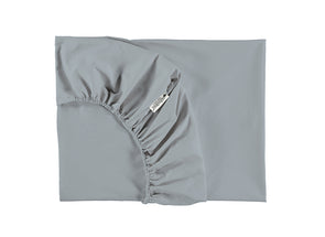 ALHAMBRA SINGLE FITTED SHEET - RIVIERA BLUE